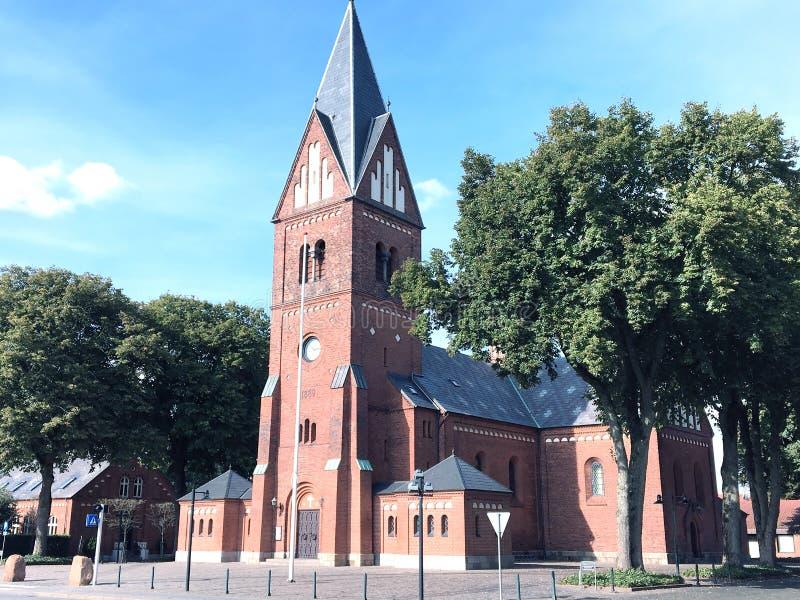 Kościół w Herning, Dani obrazy stock