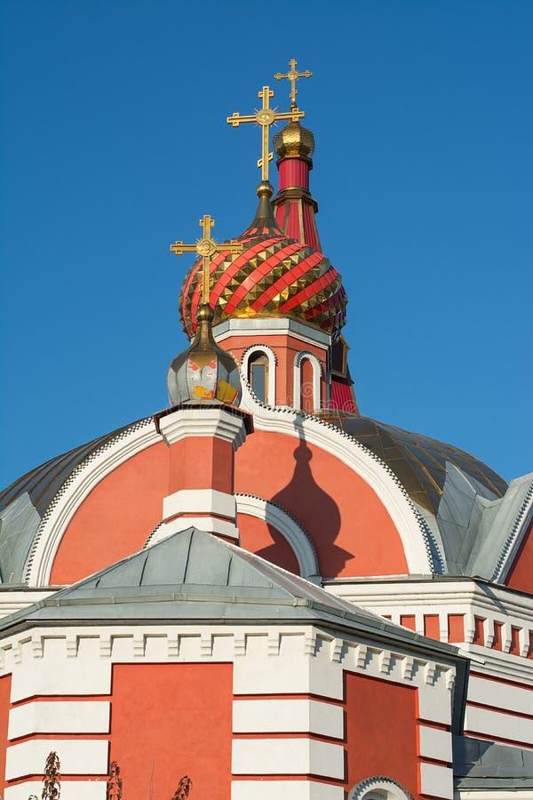 Kościół w imię Świętego męczennika Tryphon Ortodoksalny kościół zdjęcie stock