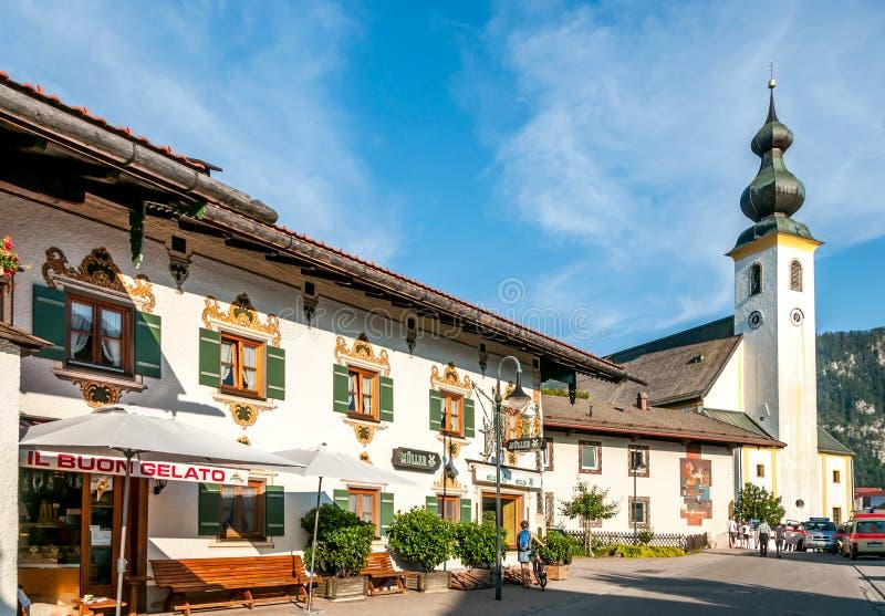 Kościół w Inzell obraz royalty free