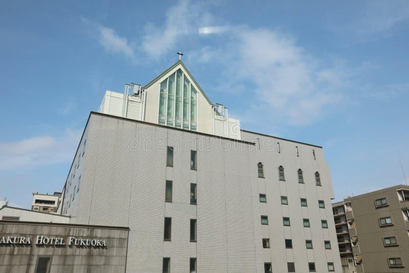 Kościół w Japonia przy 2016 obraz stock
