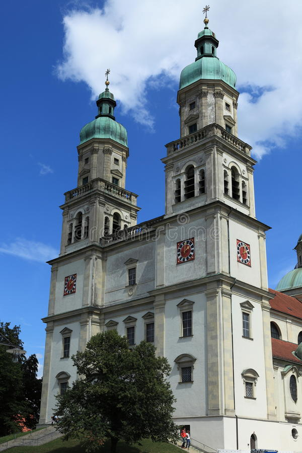 Kościół w Kempten Niemcy zdjęcia stock
