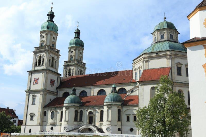 Kościół w Kempten Niemcy obraz stock