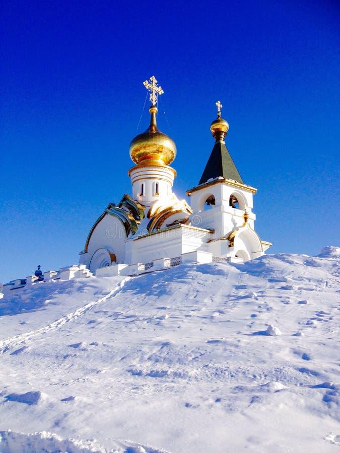 Kościół w Khabarovsk zdjęcia royalty free