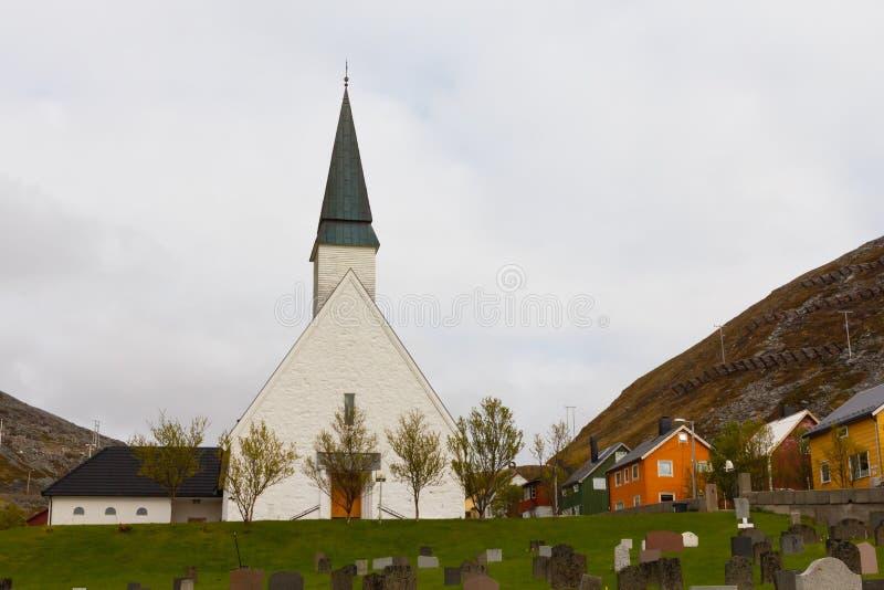 Kościół w Norwegia fotografia royalty free