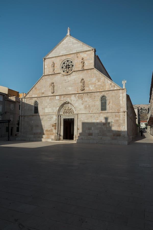 Kościół w Pag zdjęcie stock