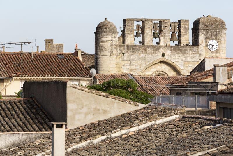 Kościół w Południowym Francja zdjęcia stock