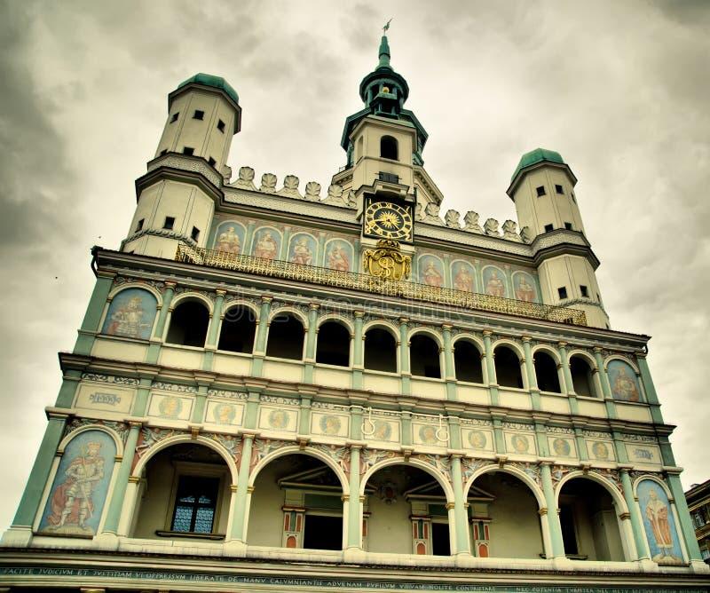 Kościół w Poznan obraz royalty free