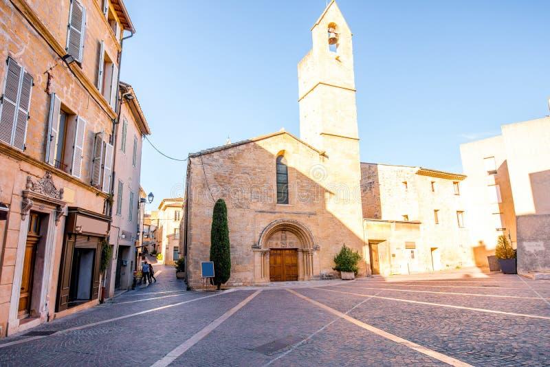 Kościół w Provence obrazy royalty free