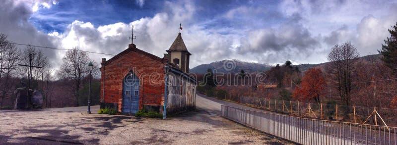 Kościół w Sicily fotografia royalty free