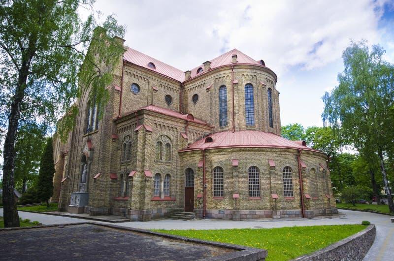 Kościół w Vilnius zdjęcia stock