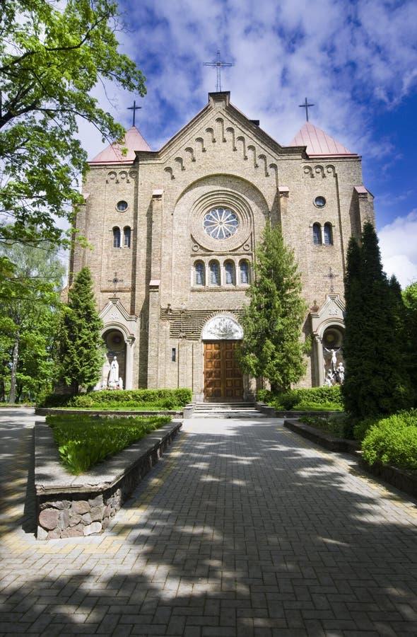 Kościół w Vilnius zdjęcia royalty free