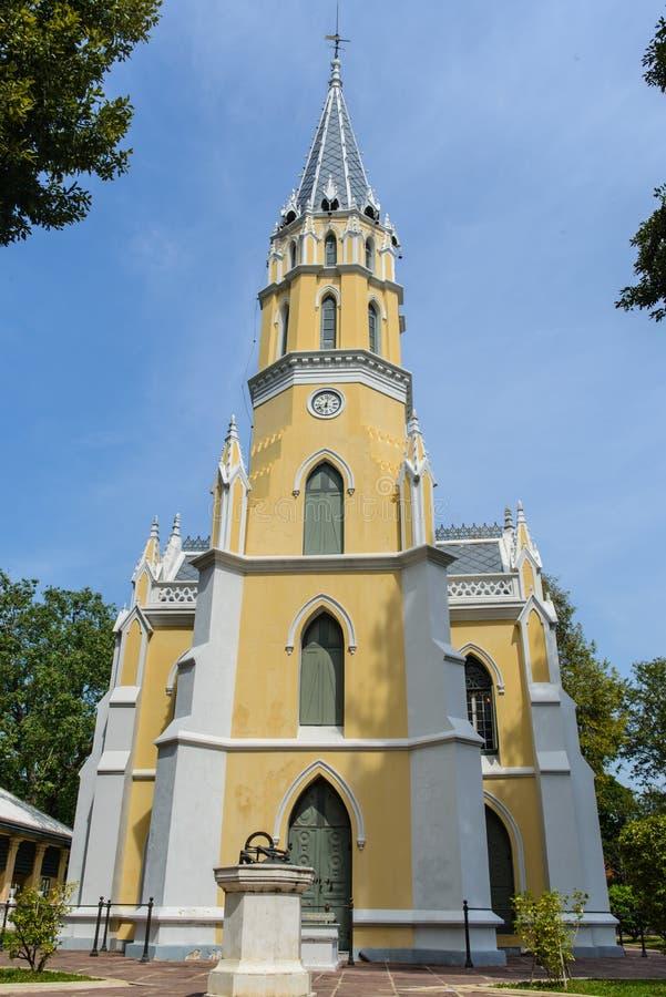 Kościół w Wacie Niwet Thammaprawat zdjęcie stock