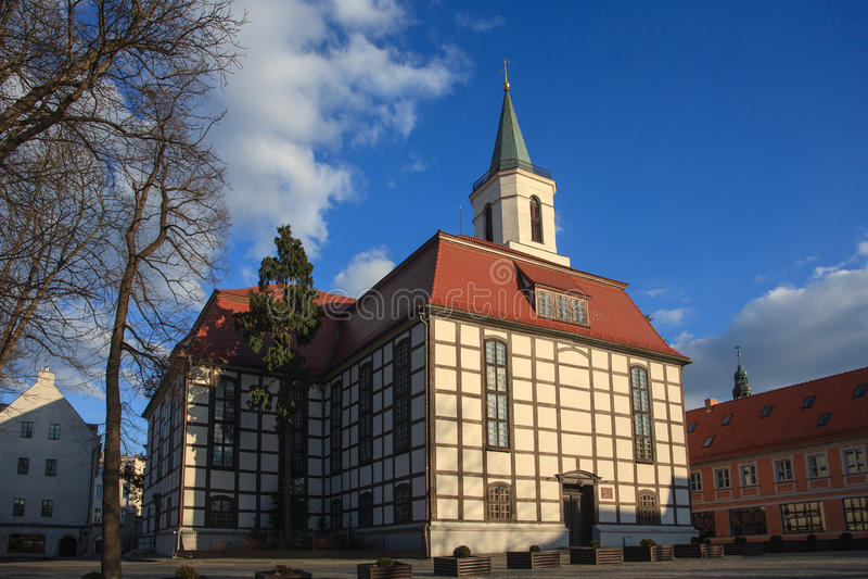 Kościół w Zielona Gora fotografia royalty free