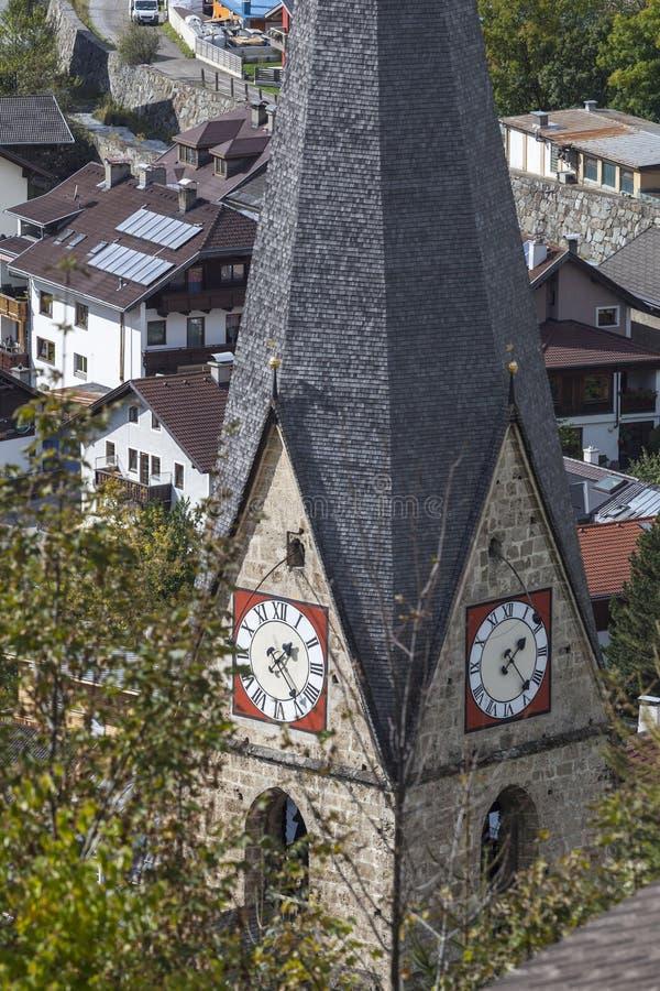 Kościół wierza fotografia stock