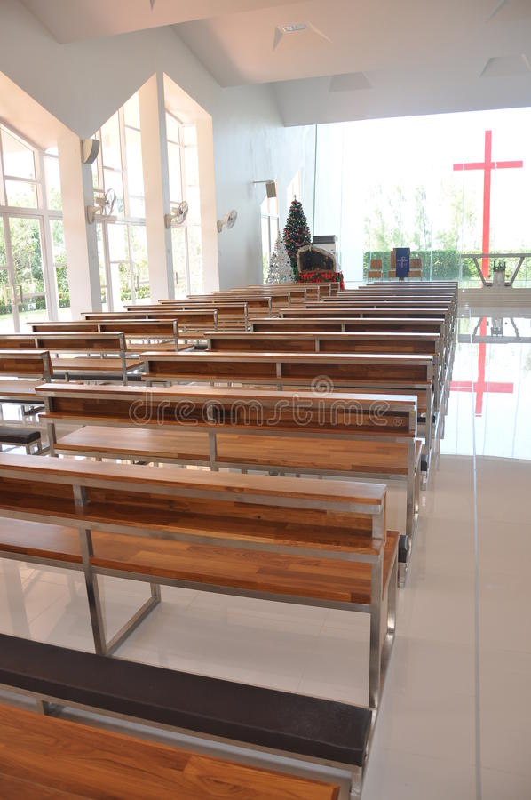 Kościół wniebowzięcie Pattaya obrazy stock
