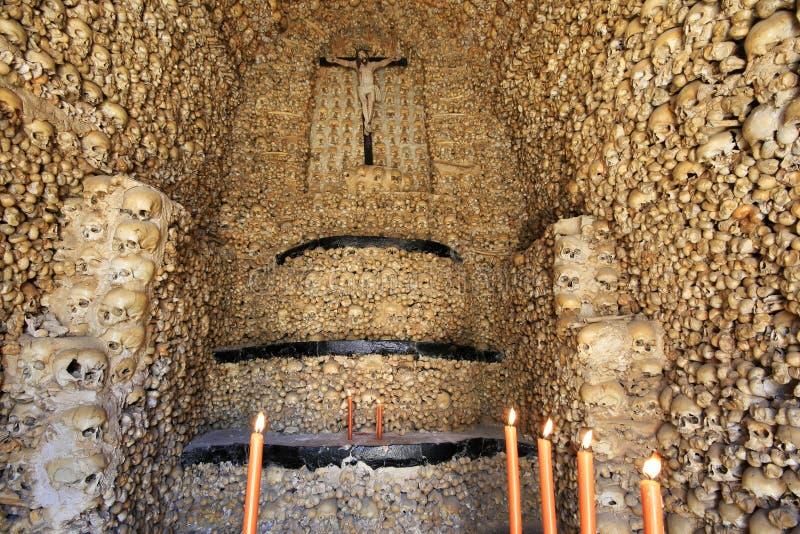 kości kaplica obraz stock