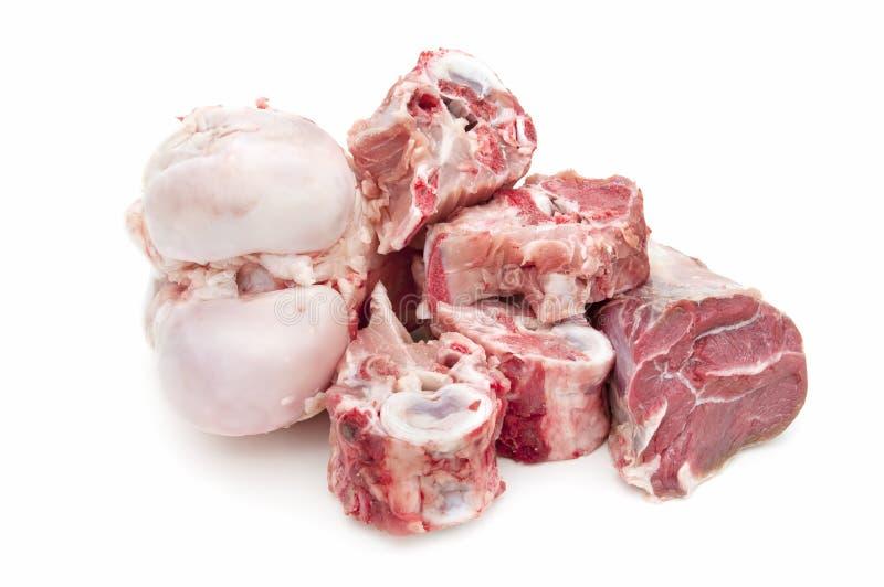 kości robią mięsnej polewce fotografia royalty free