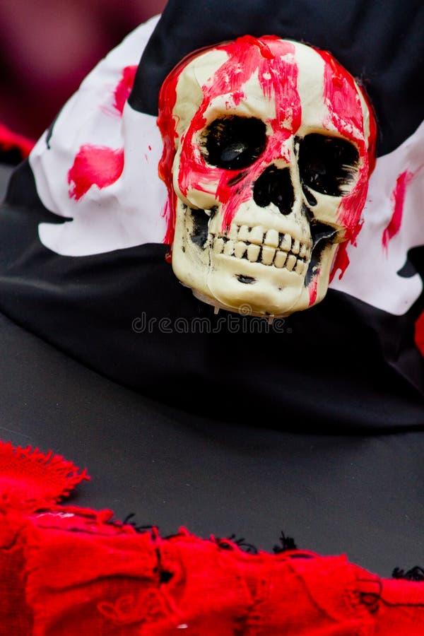 Kościec Halloween zdjęcie royalty free
