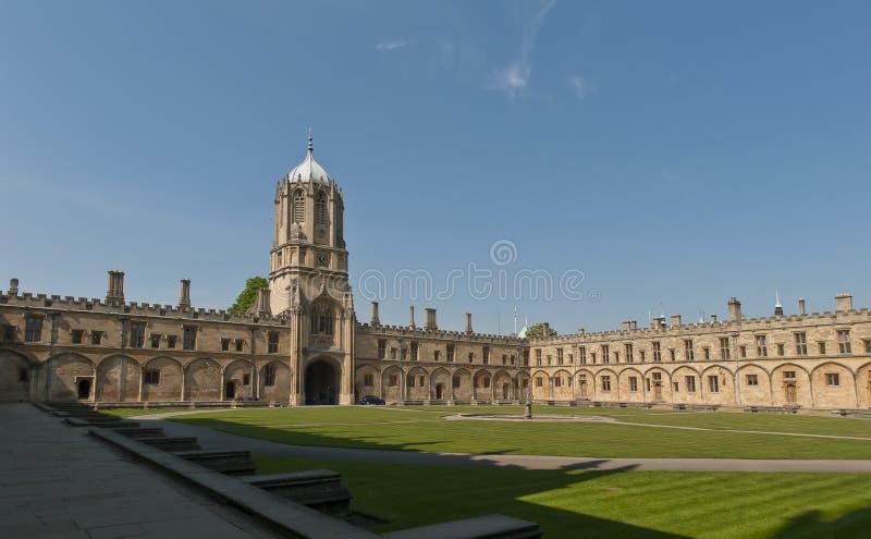 kościelna Christ szkoła wyższa Oxford obrazy royalty free