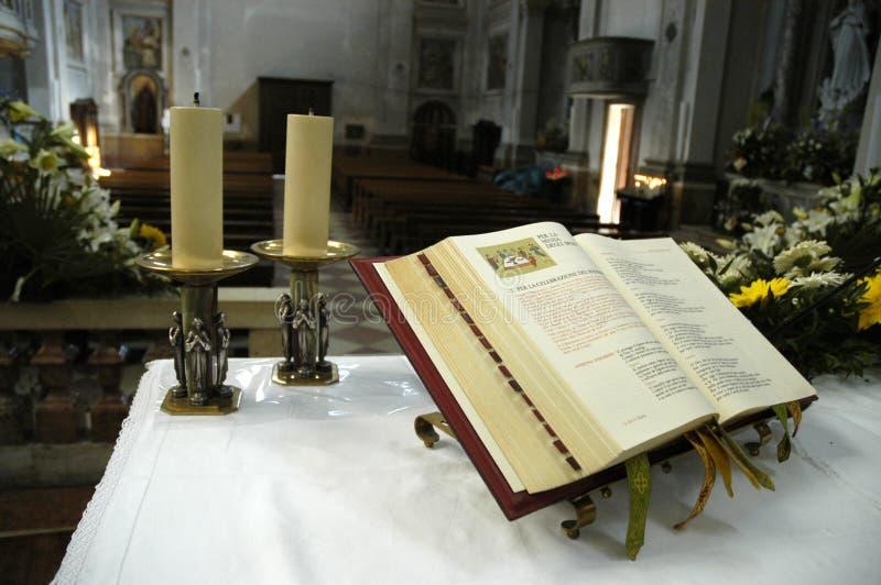 kościelna ewangelia zdjęcia stock