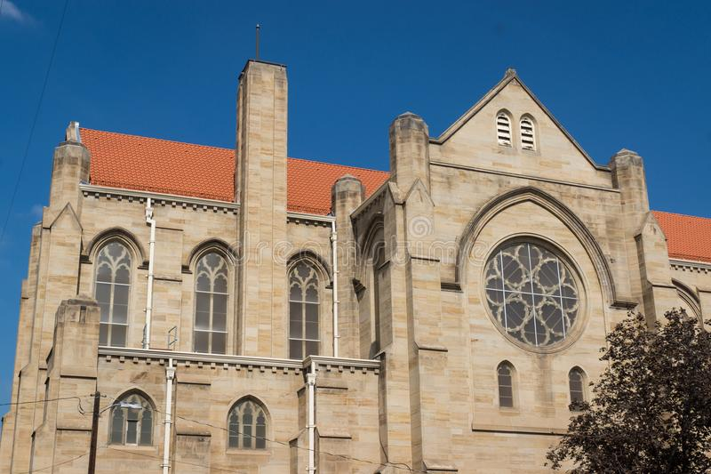 Kościelna fasada zdjęcia stock