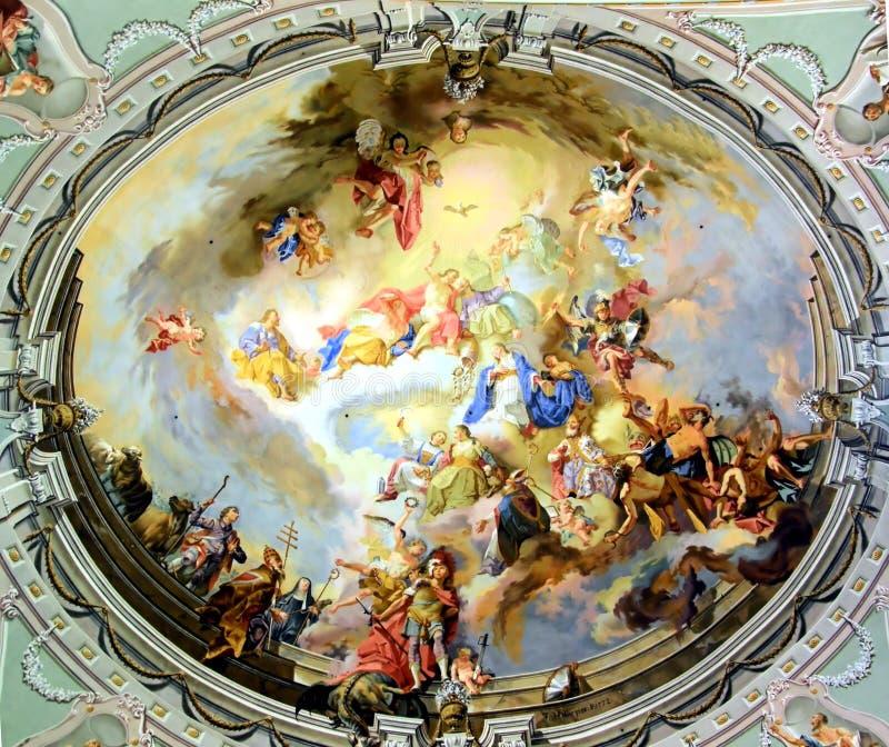 kościelna kopuła zdjęcie royalty free