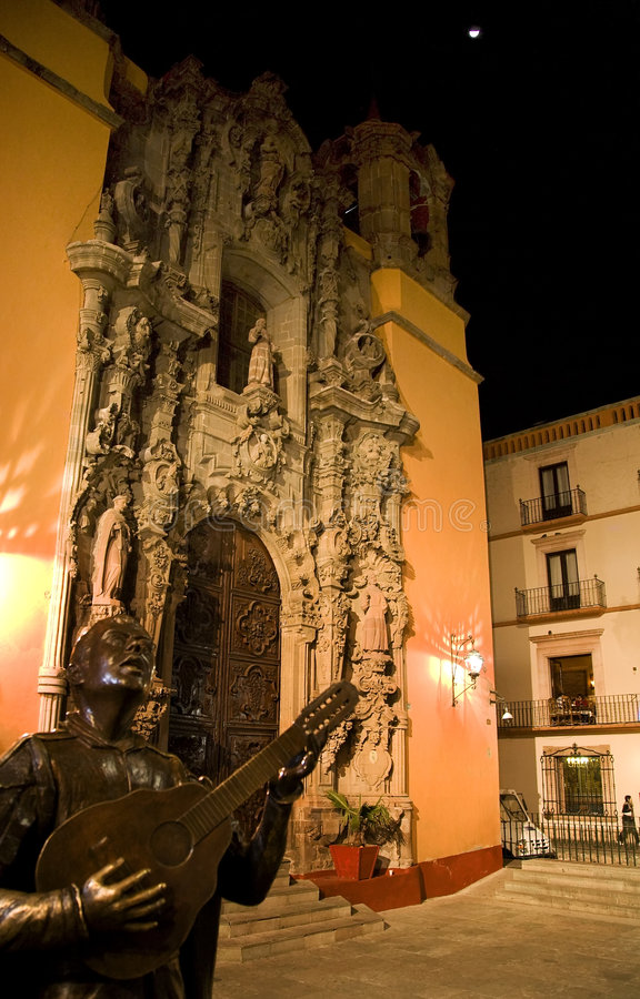 kościelna San Diego do meksyku na księżyc zdjęcie royalty free
