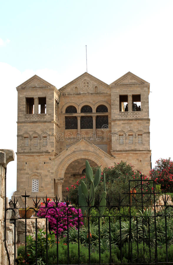 kościelna transfiguracja fotografia royalty free