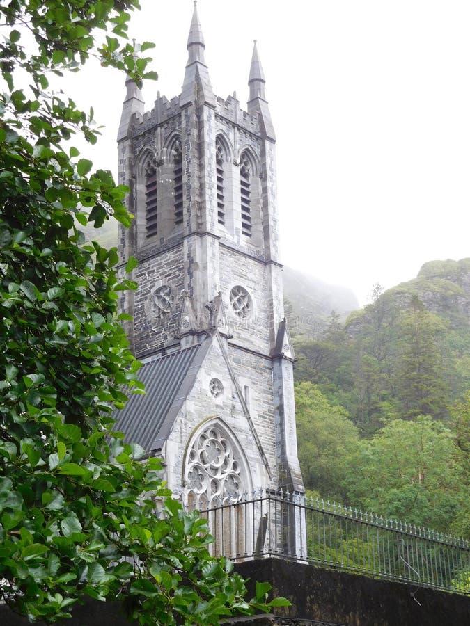 Kościelne iglicy zdjęcie royalty free