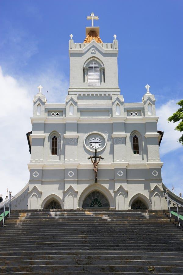 kościelnego poczęcia niepokalany lanka sri zdjęcia stock