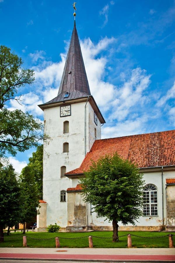 kościelni święci Latvia lutheran trinity tukums fotografia royalty free