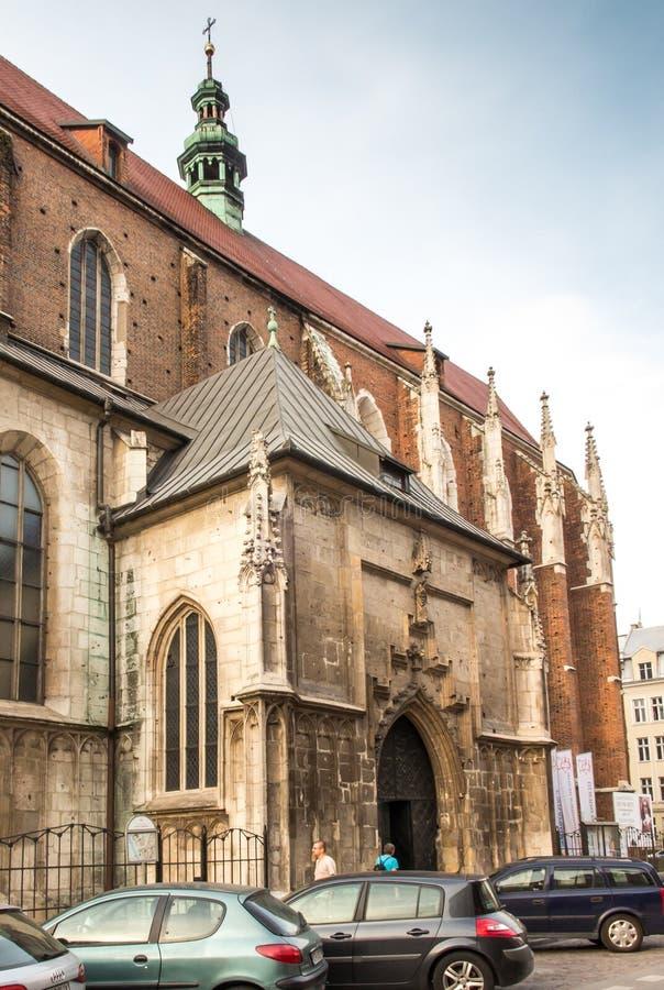 kościelny Croatia makarska oceny kurort sts Catherine Aleksandria i St Margaret w Krą zdjęcia royalty free
