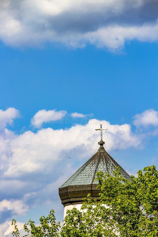 kościelny Croatia makarska oceny kurort sts Konstantin i Helena w wiosce Krepost, Bułgaria, architektoniczny szczegół obraz royalty free