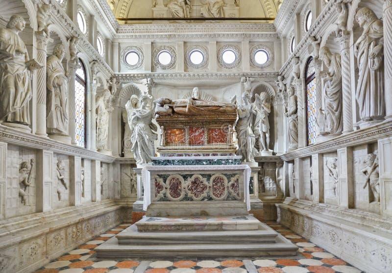 kościelny Croatia wnętrza trogir obraz stock