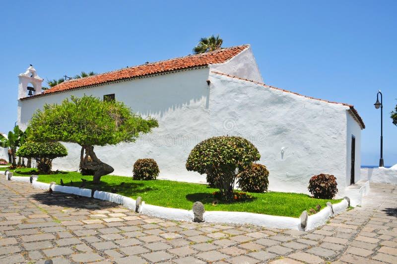 kościelny Cruz De Los angeles Puerto San Spain Telmo fotografia stock