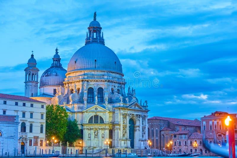 kościelny della Maria salut Santa Venice zdjęcia stock