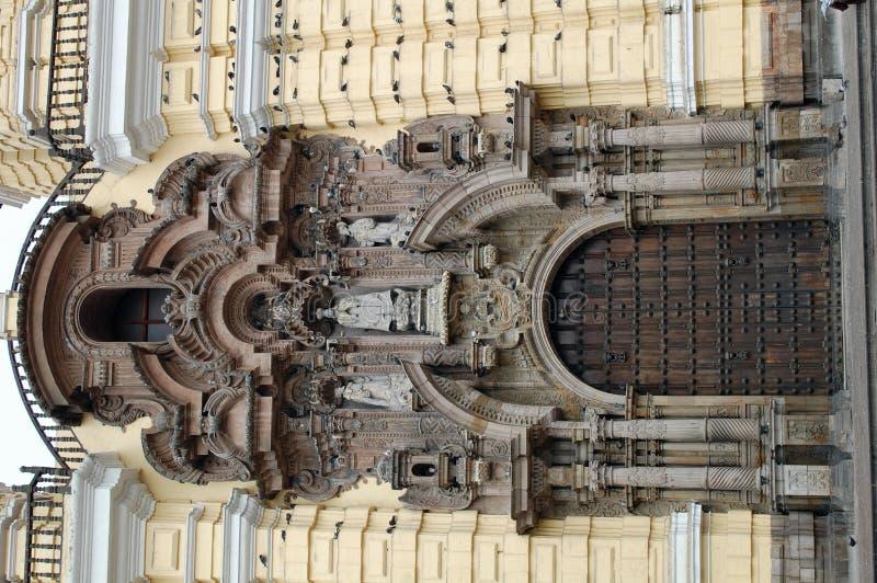 kościelny drzwi fotografia royalty free