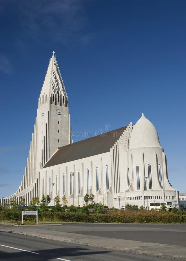 kościelny Europe Iceland Reykjavik obrazy stock