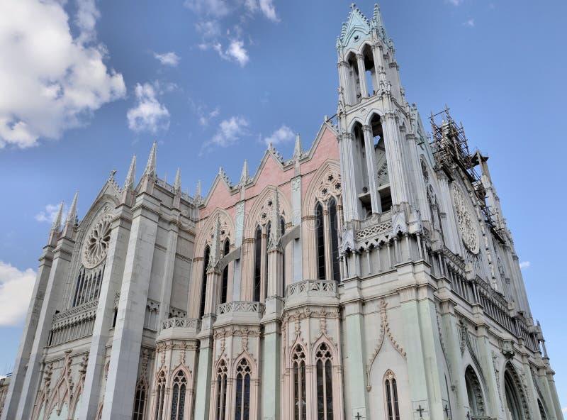 kościelny expiatorio Leon Mexico zdjęcie royalty free