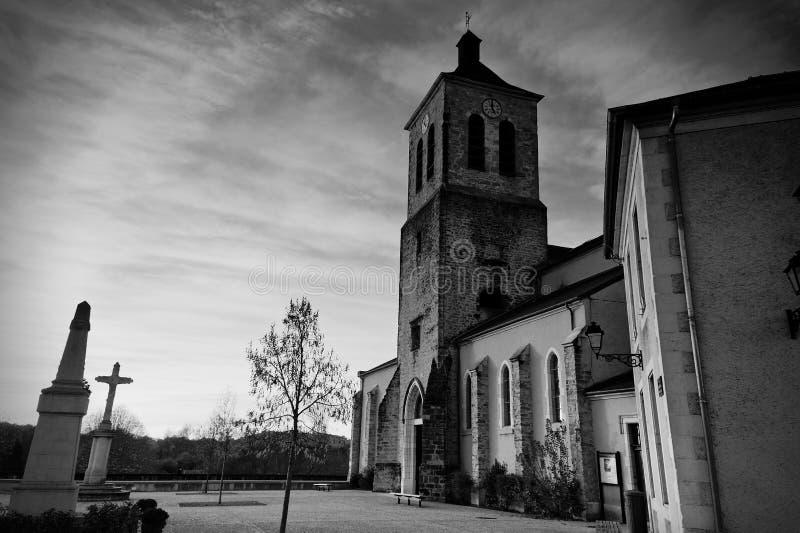 kościelny francuski stary obraz stock