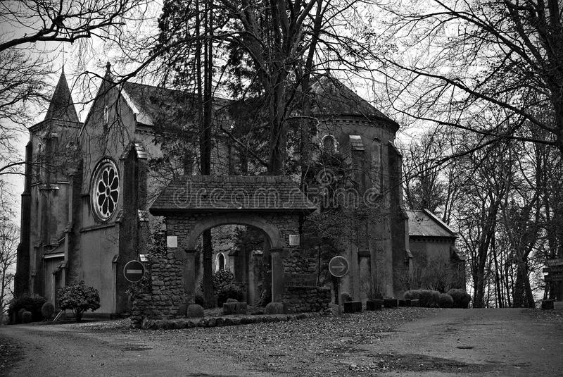 kościelny francuski stary fotografia royalty free