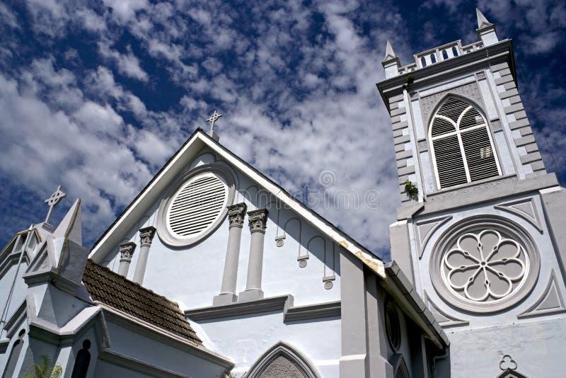 kościelny George methodist miasteczka wesley zdjęcie stock