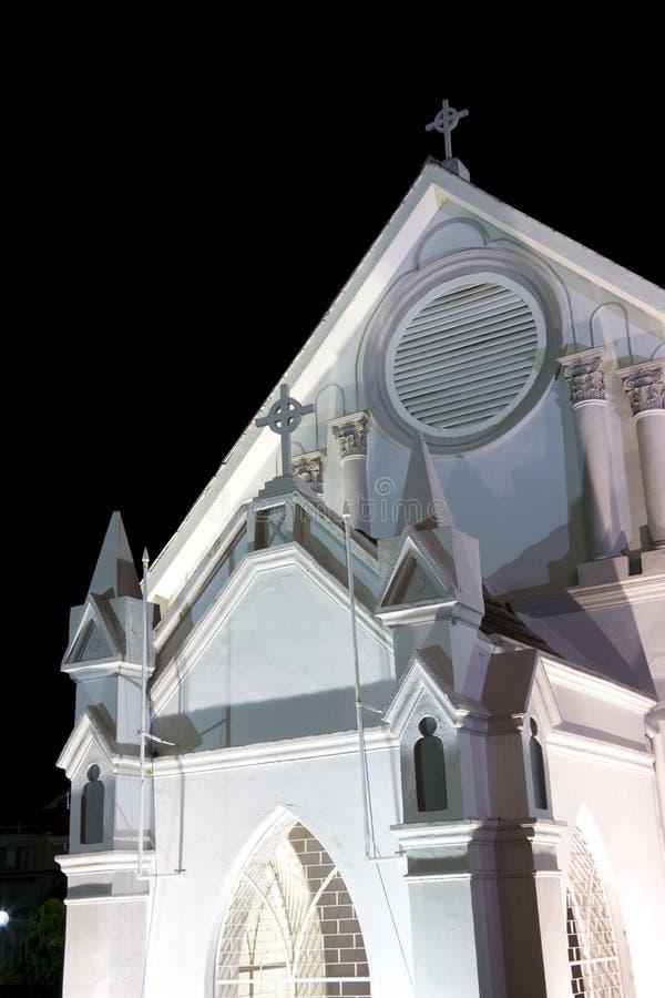 kościelny Georgetown methodist wesley fotografia stock