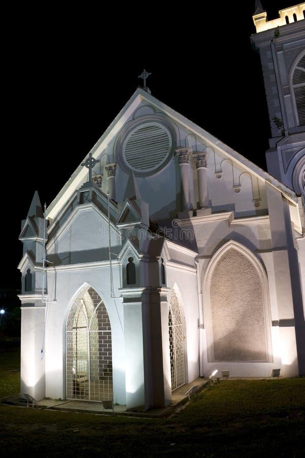 kościelny Georgetown methodist wesley obrazy stock