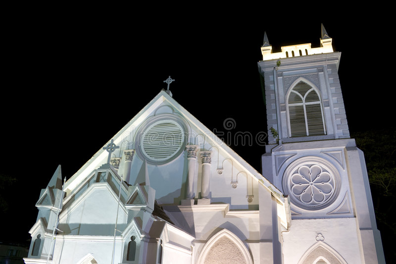kościelny Georgetown methodist wesley zdjęcie stock