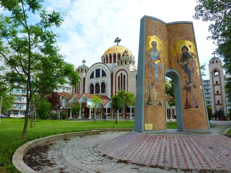 kościelny Greece Thessaloniki fotografia stock