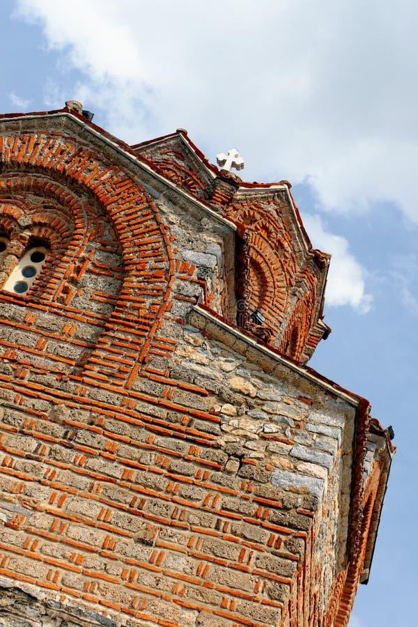 kościelny kaneo Macedonia ohrid fotografia stock