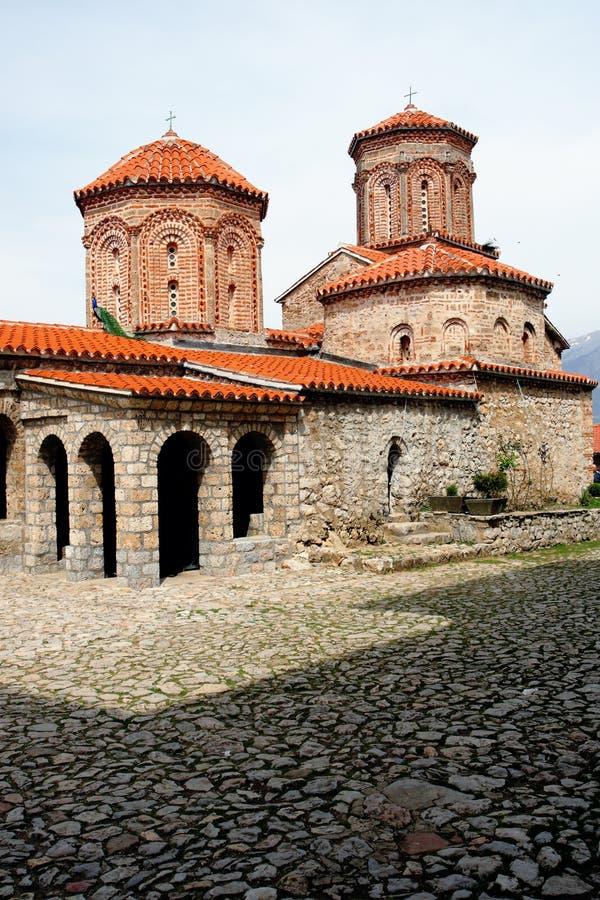 kościelny Macedonia naum st fotografia royalty free