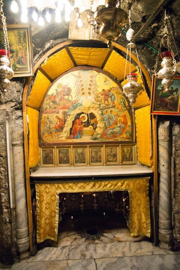 kościelny narodzenie jezusa fotografia royalty free