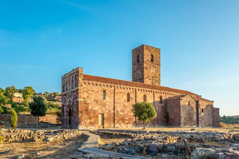 Kościelny Nostra Signora Di Tergu obraz royalty free